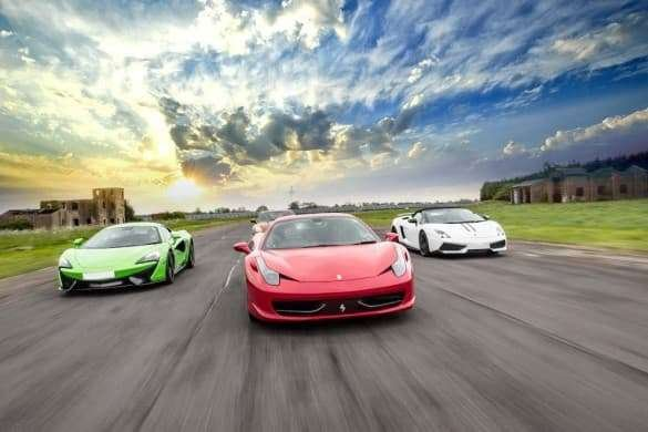 Four Supercar Thrill Experience (Anytime) Driving Experience 1