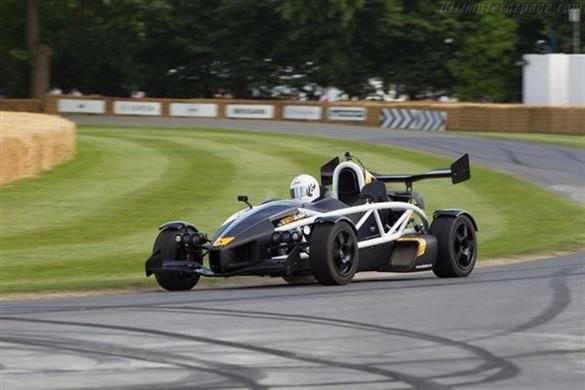 Four Supercar Experience at Goodwood Driving Experience 1