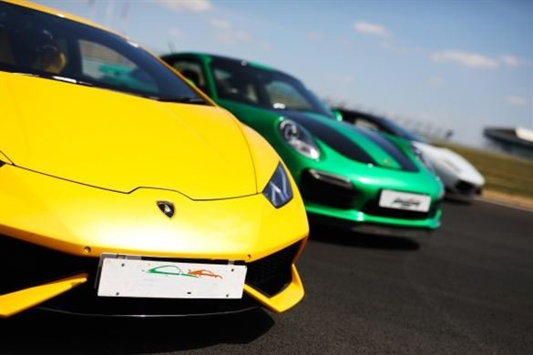 Supercar Triple Thrill - Anytime Driving Experience 1