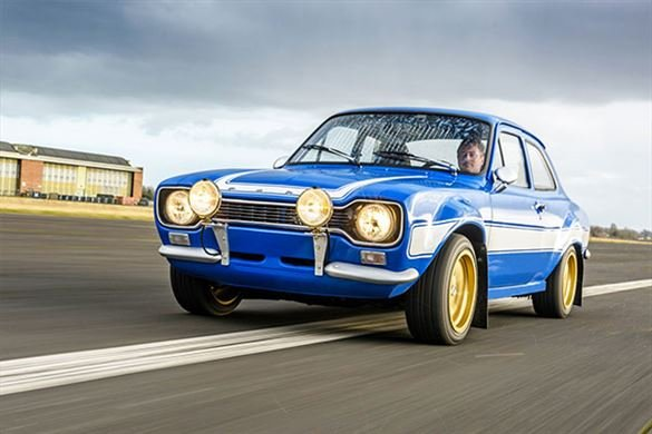 Triple British Classic Blast with High Speed Passenger Ride Driving Experience 1