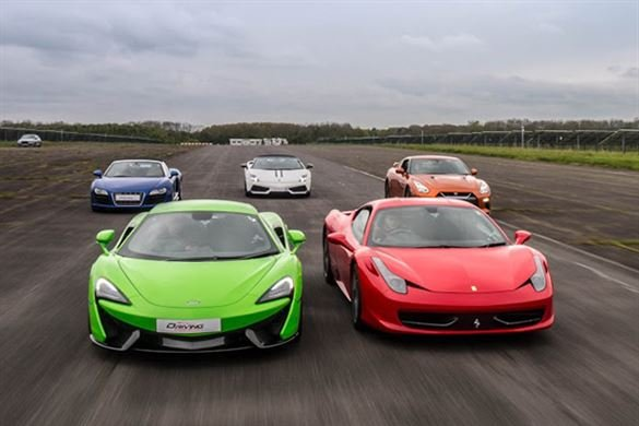 Triple Platinum Supercar Thrill (Anytime) Driving Experience 1