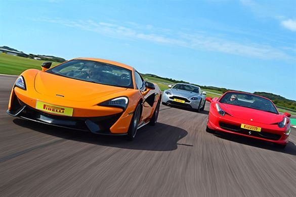 Triple Supercar Driving Experience Driving Experience 1