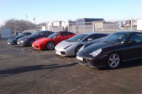 Triple Supercar Experience Driving Experience 1