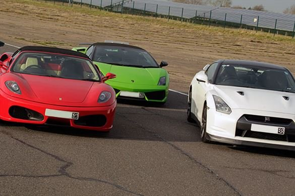 Triple Supercar Thrill (Anytime) Driving Experience 1